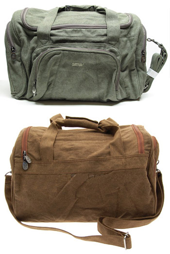 Hemp Hold-All Duffle Bag by Sativa