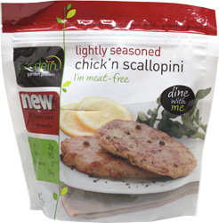 Vegan Chick'n Scallopini by Gardein