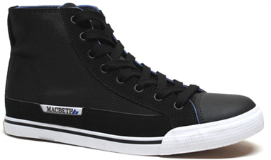Schubert Hi-Top Sneaker by MacBeth  Hunter Burgan Model