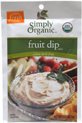 Simply Organic Fruit Dip Mix