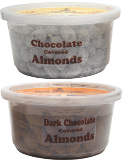Organic Chocolate Covered Almonds by Sjaak's