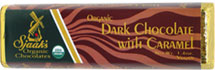 Sjaaks Organic Caramel-Filled Chocolate Bar