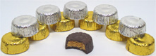 Organic Miniature Peanut Butter and Almond Butter Cups by Sjaaks