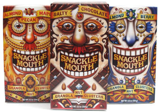 Snackle Mouth Granola Nut Clusters