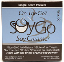 SoyGo Vegan Creamer Packets