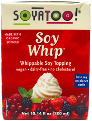 Soyatoo Organic Topping Cream (Heavy Cream Substitute)