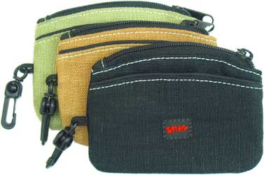 Hemp Zip Pouch by Splaff