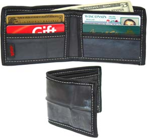 Recycled Rubber Wallet by Splaff