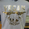 �Vegan � Stay the Course� Unisex T-Shirt by Motive Co.