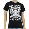 Go Vegan &#8211; Stay Vegan T-Shirt by Motive Company