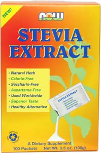 Stevia Extract Packets by NOW