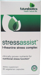 StressAssist L-Theanine Stress Complex by Futurebiotics