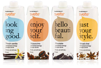 Svelte Sustained Energy Protein Drinks by CalNaturale