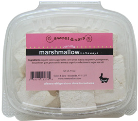 Vanilla Vegan Marshmallows by Sweet &amp; Sara