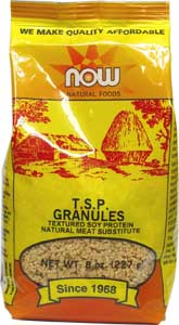 Organic Textured Soy Protein Granules by NOW Natural Foods