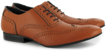Tan Brogue by Vegetarian Shoes - Unisex