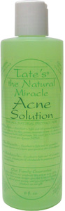 Tate's Natural Miracle Acne Solution