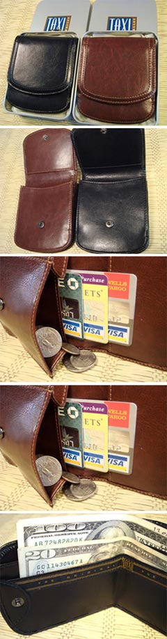 Vegan Taxi Wallets
