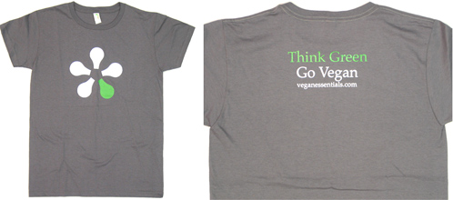 Think Green - Go Vegan T-Shirt