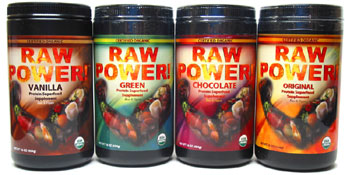 Thor�s Organic Raw Power Protein Superfood Blend