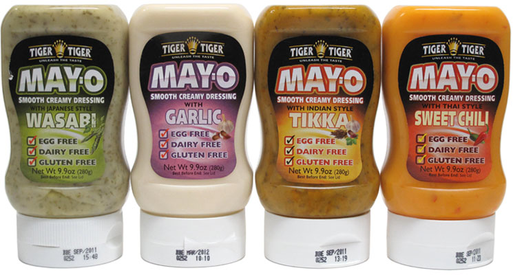 Vegan Flavored Mayonnaise by Tiger Tiger