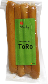 Toro Veganwurst Sausages by Wheaty
