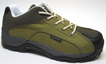 Trail Master Hemp Shoe by Wicked Hemp � Men�s Green