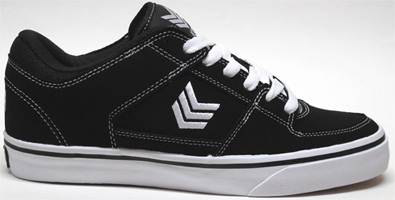 Trooper Sneaker by Vox Footwear � Black/White