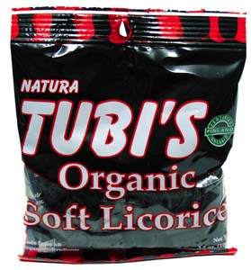 Tubi's Organic Black Licorice