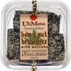 Organic & Raw Hemp Chocolate Brownies by Uli Mana