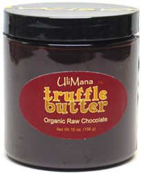 Raw Organic Chocolate Truffle Butter by Uli Mana