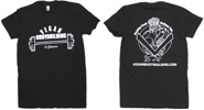 Vegan Bodybuilding & Fitness T-Shirt - Black