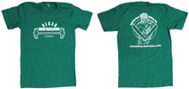 Vegan Bodybuilding & Fitness T-Shirt - Unisex Green