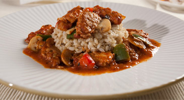 Soy Chicken Cacciatore by Veggie Brothers