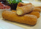 Vegan Mozzarella Sticks by Veggie Brothers