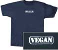 Oval Vegan Logo T-Shirt