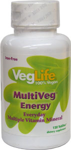 Multi-Veg Vitamin and Mineral Complex by VegLife