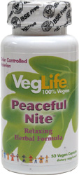 Peaceful Nite Relaxing Herbal Formula by VegLife