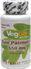 Saw Palmetto 550mg Capsules by VegLife