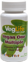 Vegan One Multiple Vitamins and Minerals by VegLife