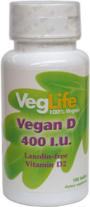 Vegan Vitamin D2 by VegLife