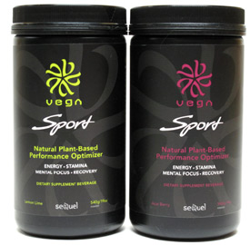 Vega Sport Natural Plant-Based Performance Optimizer - 30 Serving Container