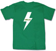 Vegan Bolt Unisex T-Shirt - Green