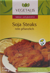 Vegan Soya Steaks by Vegetalis