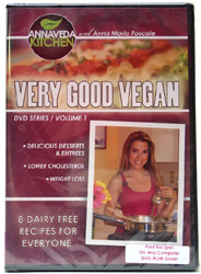 Very Good Vegan DVD vol. 1 by Annaveda Kitchen