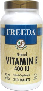 Vegan Vitamin E Tablets by Freeda