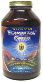 Vitamineral Green Organic Whole Food Supplement