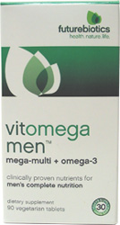 Vitomega Men�s Multi-Vitamin + Omega-3 by Futurebiotics
