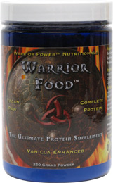 Warrior Food Raw Complete Protein Supplement by HealthForce