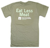 Eat Less Meat T-Shirt by We Add Up